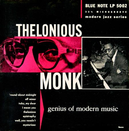 Album cover by Paul Bacon. (Blue Note)