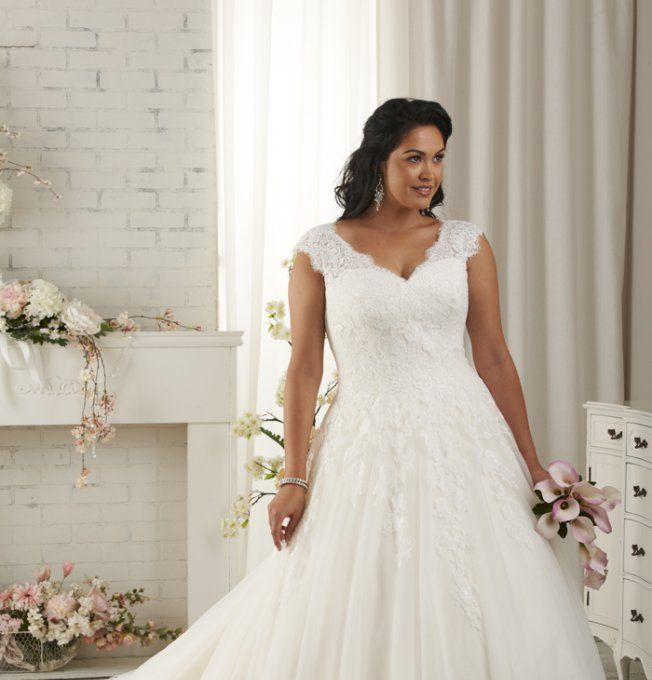 Les 25 meilleures id es de la cat gorie mariage grande for Robes formelles plus la taille pour les mariages