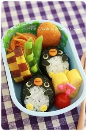 ペンギンちゃん弁当☆ 【レシピブログ】