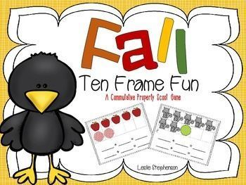 This product is a scoot game that reinforces the commutative property of addition. It is appropriate for first grade.