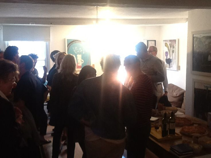 Private view - drinks & nibbles- overwhelmed by how many turned up, great evening ..........