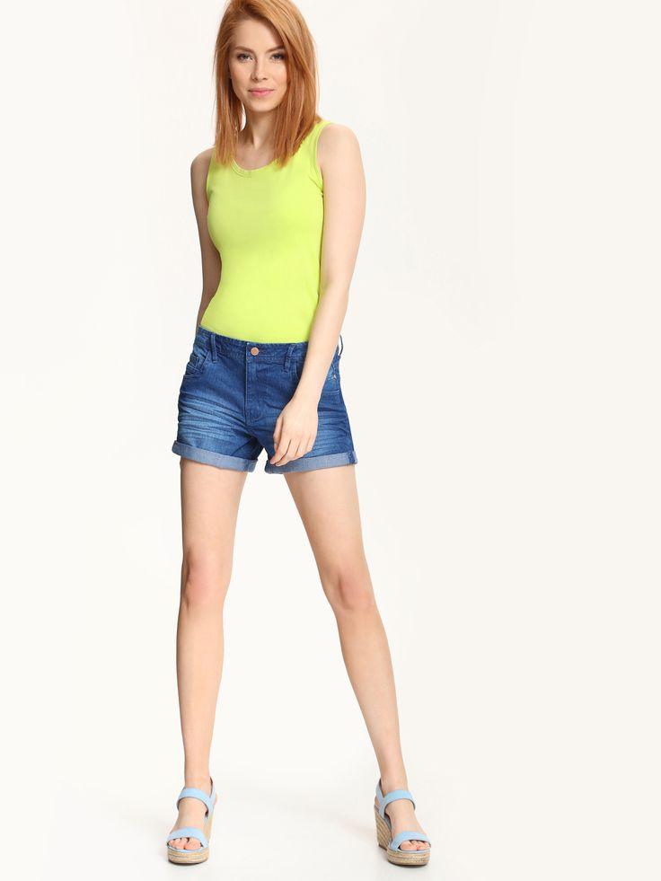 Top Secret SBW0230 Green Top Shirt