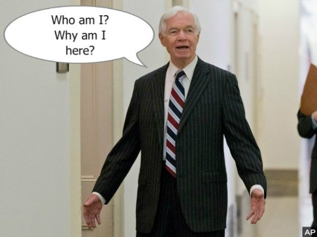 Doddering Old Man Thad Cochran Uses Angry Words Against Chris McDaniel | RedState