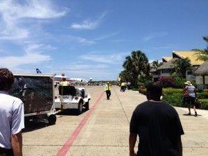 Punta Cana Airport Tarmac Walking - Excellence Punta Cana Dominican Republic Review