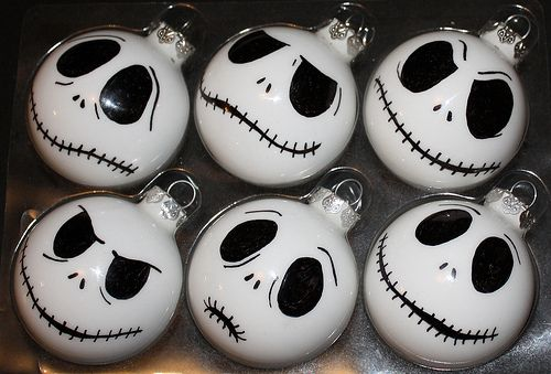 Geek Art Gallery: Nightmare Before Christmas Balls - i want them!