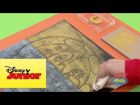 Art Attack: Rostro Azteca - YouTube