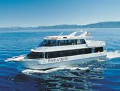 We offer fantastic private charters aboard our fabled flagship paddlewheelers – Tahoe Queen and M.S. Dixie II – as well as aboard our smaller, more intimate craft: the Tahoe Paradise.