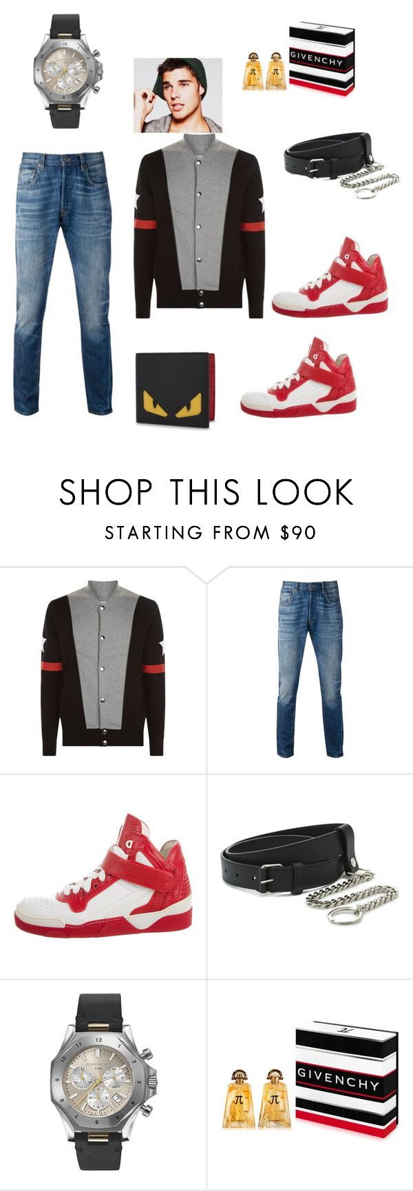 menlook by malishevan on Polyvore featuring Levi's, Givenchy, Fendi, men's fashion and menswear
