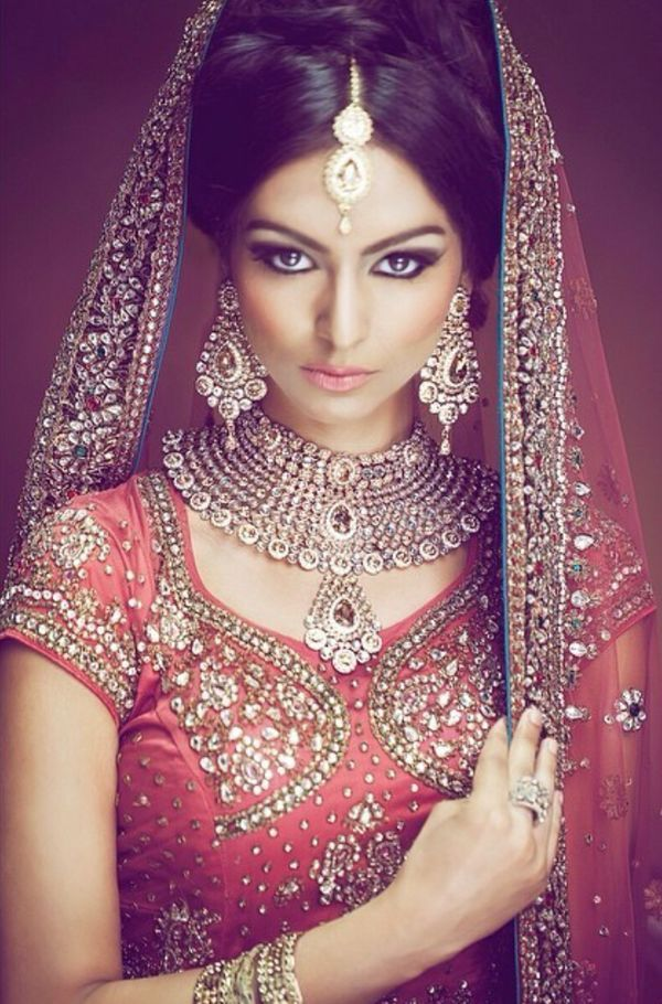 indian wedding hairstyle gallery%0A indian  bollywood and desi image on We Heart It