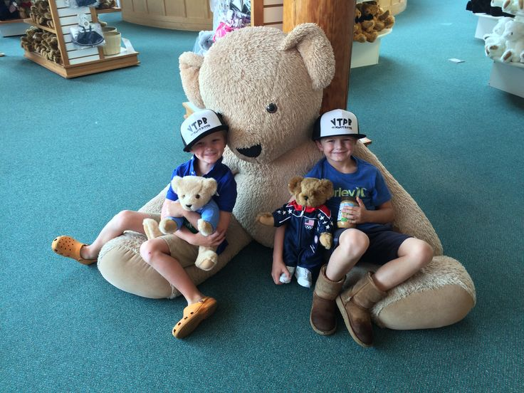 Looking for fun things to do in Vermont? #VisitVermontTeddyBear #LifetimeGuarantee
