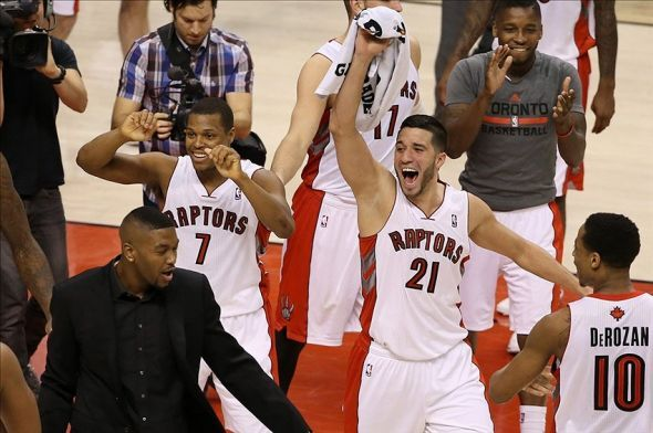 Raptors clinch playoff spot!