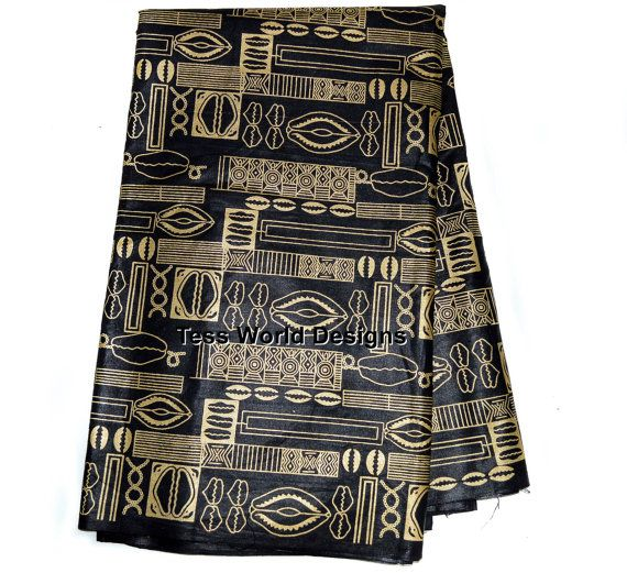 African Fabric print  african fabric wholesale by TessWorldDesigns,