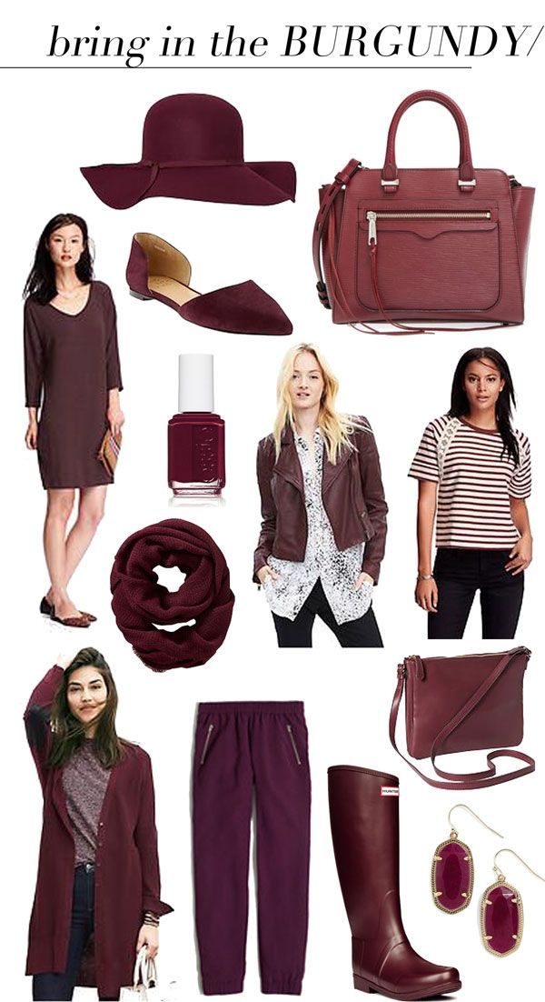 jillgg's good life (for less) | a style blog: bring in the burgundy...