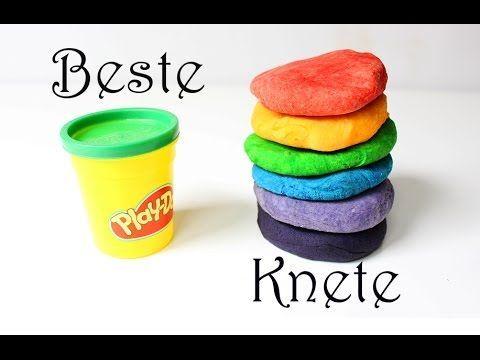 Das beste Rezept für Knete und 10 Spielideen für Kinder - Mama Kreativ