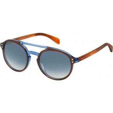 d262321ef3 Marc by Marc Jacobs sunglasses MMJ 460  S A85G5 Plastic Havana Brown –  Transparent Blue Blue Gradient