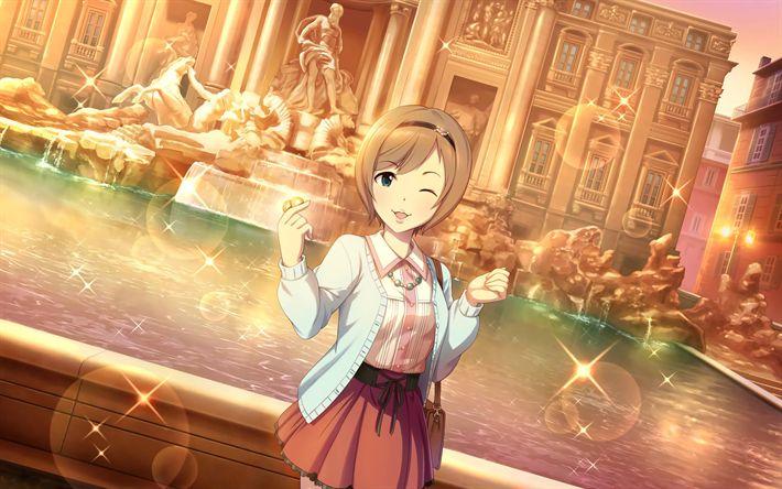 Download wallpapers iri Totoki, anime characters, The Idolmaster Cinderella Girls, manga, Idolmaster