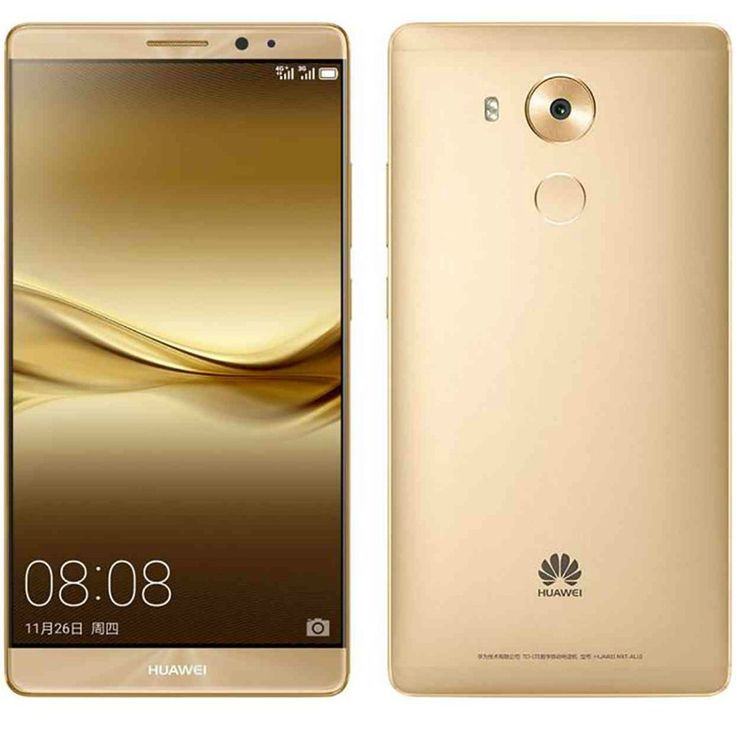 Huawei Ascend Mate 8 NXT-AL10 64GB Dual Sim 4G LTE SIM FREE/ UNLOCKED - Gold