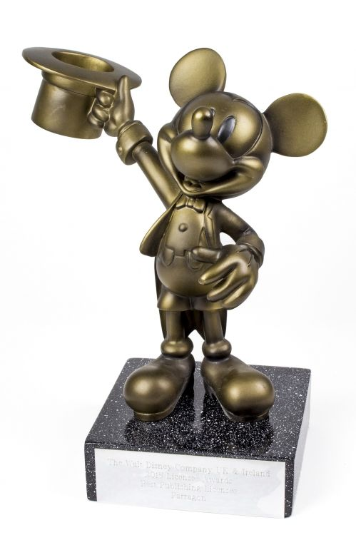 Parragon is proud to have been named 'Best Publishing Licensee' at the 'Walt Disney Company UK & Ireland 2015 Licensee Awards'!