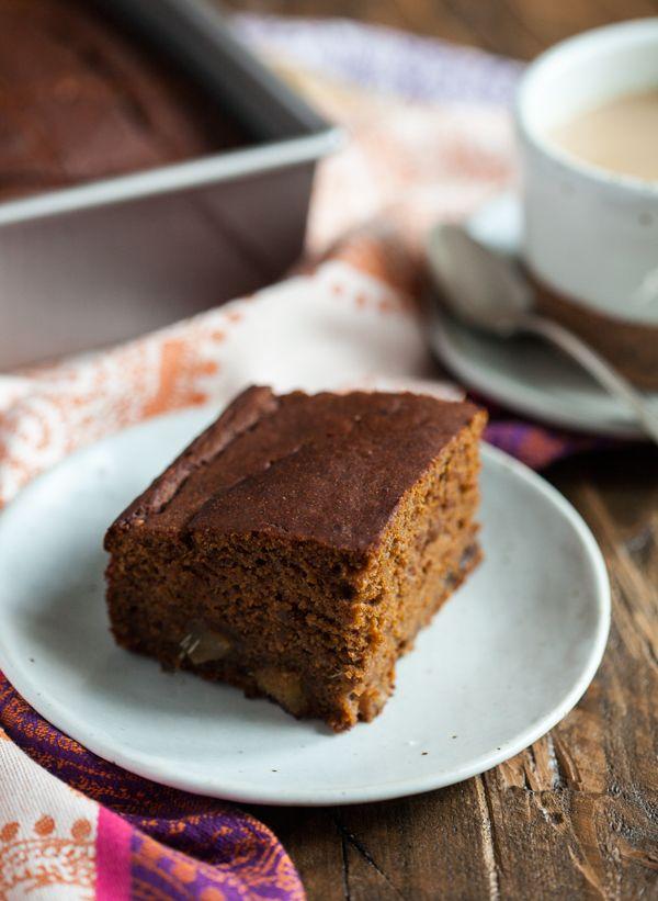 Vegan, Gluten Free Gingerbread Cake