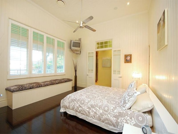 Queenslander style bedroom bedroom ideas pinterest for Queenslander living room ideas