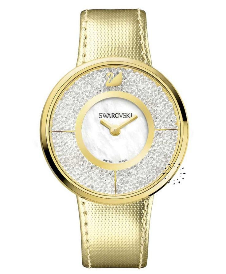 SWAROVSKI Crystal Crystalline Gold Τιμή: 319€ Τιμή Προσφοράς: 255€ http://www.oroloi.gr/product_info.php?products_id=34164