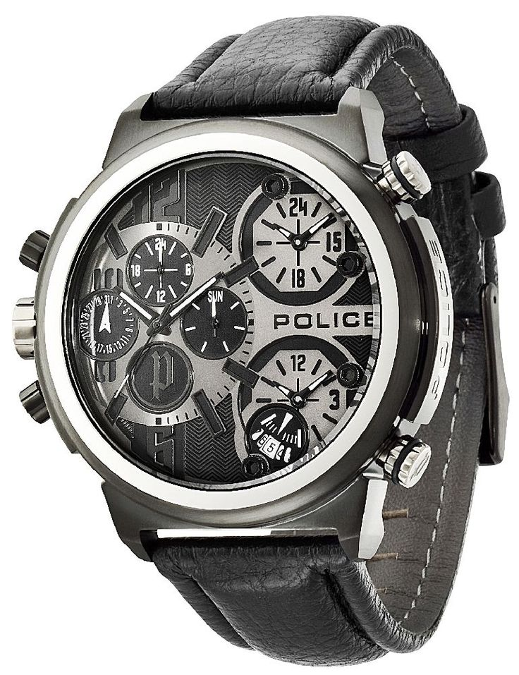 Police Uhr Herren Armbanduhr P13595JSB-13 PYTHON schwarz Lederarmband http://www.uhren-versand-herne.de/police-uhr-herren-armbanduhr-p13595jsb-13-python-schwarz-lederarmband.html