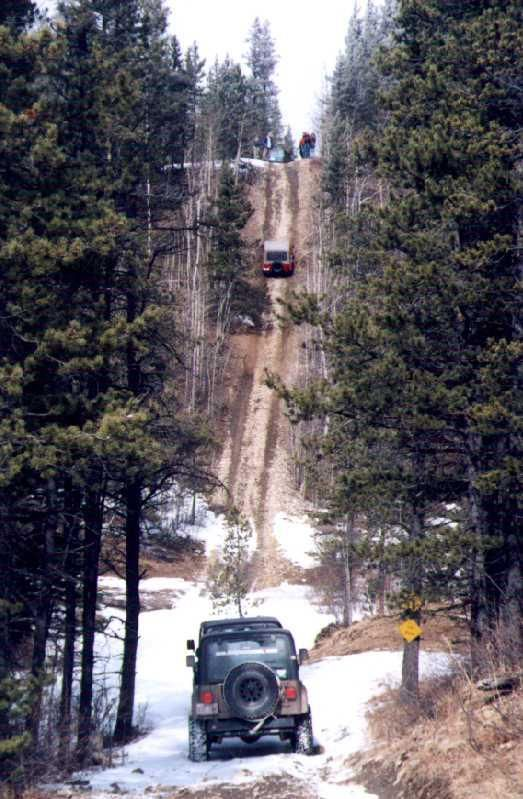 Now THAT is a trail ride! Hurry up and get your Jeep ready to drive William!!