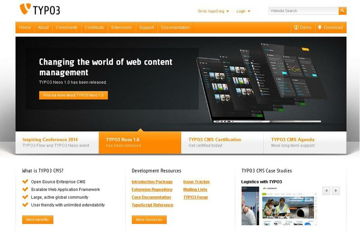 Typo3  For More: http://www.themangomedia.com/blog/selecting-right-cms-website-for-your-business-with-industry-trends/