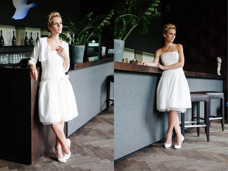 13 best Brautkleid images on Pinterest | Short wedding gowns ...