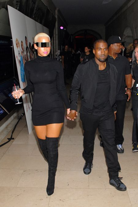Kanye and Amber---I actually liked them together.