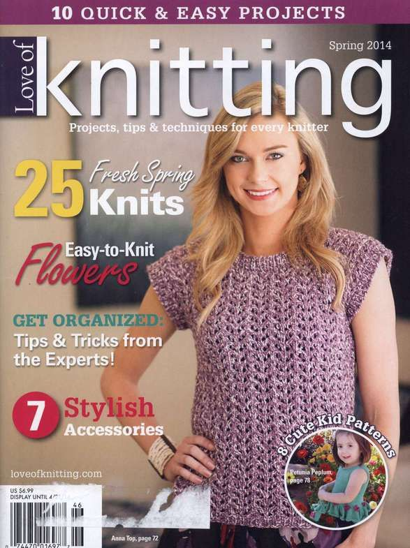 Love of Knitting Spring 2014