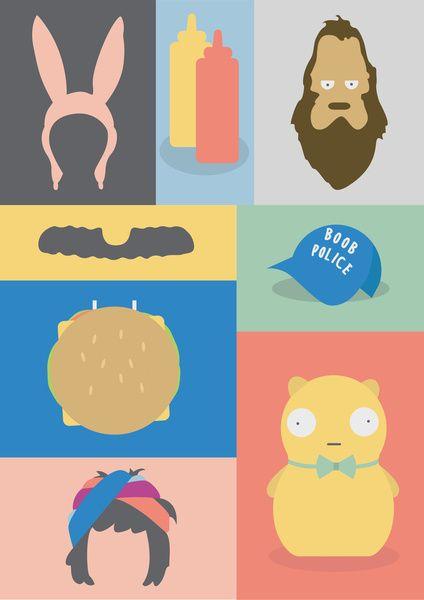 Bob's Burgers icons