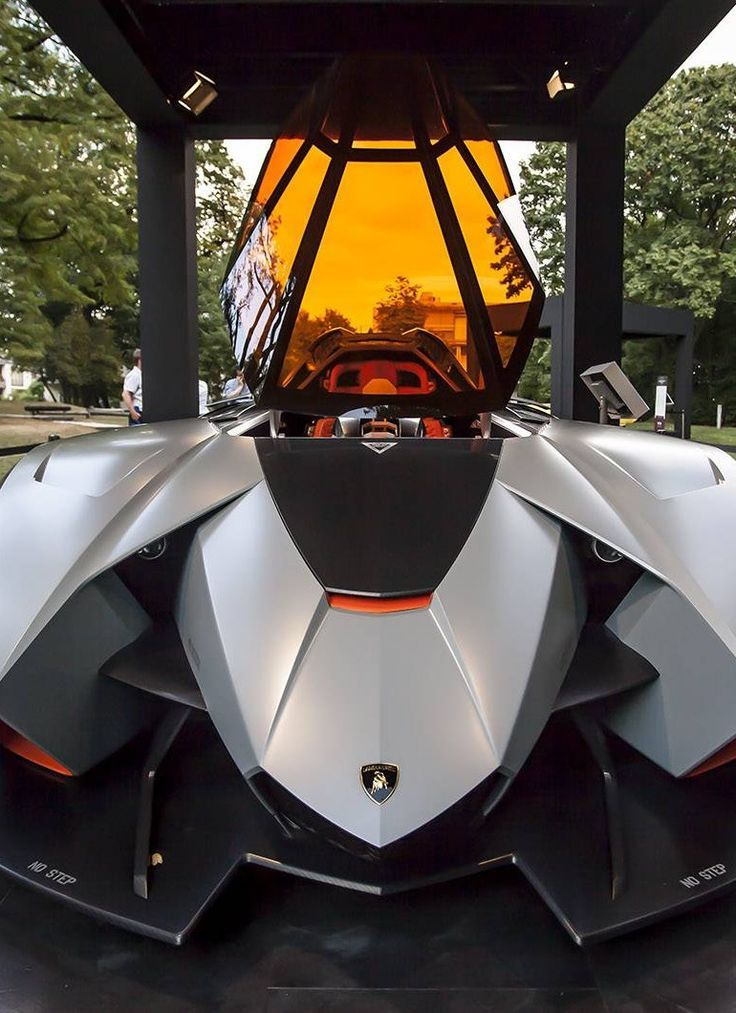 A Fighter Jet Or A Car? The New #Lamborghini Egoista Is Mad! Hit