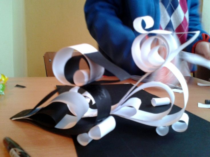 Papierowe konstrukcje.