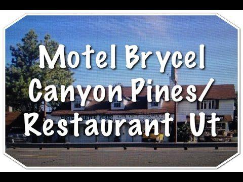 Motel Bryce Canyon Pines/Restaurant, Bryce Canyon UT. .