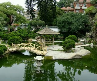 Beautiful Home Gardens Designs Ideas. #bridge #water #homegarden Part 52