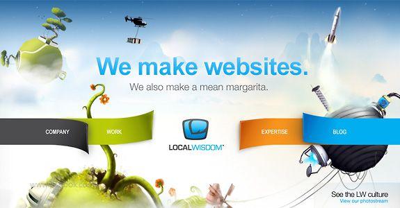 16 Inspirational Creative Web Designs