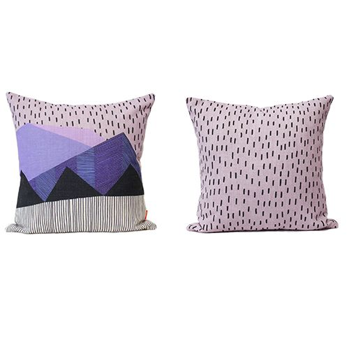 Monsoon 50cm High Quality Linen Cushion Collab from Lisa Lapointe / Sparkk  Available at www.willowshometraders.com.au