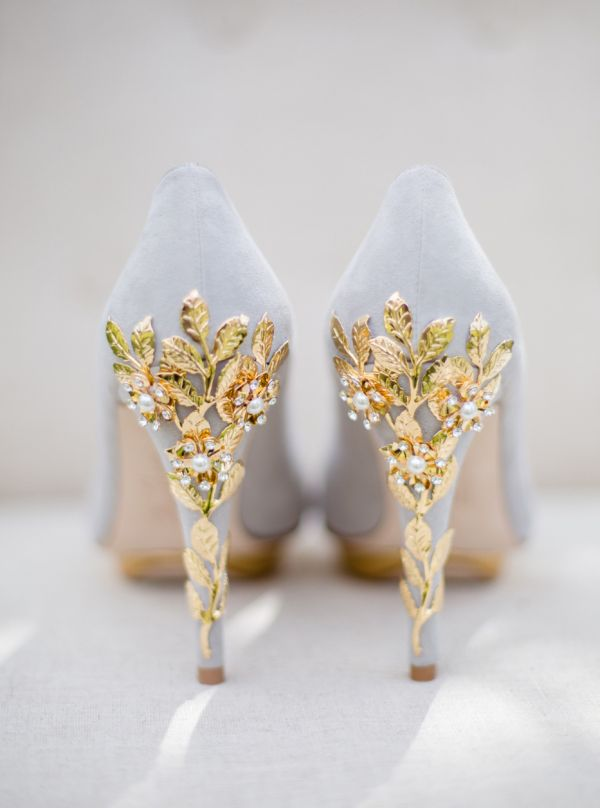 23 Stunning Wedding Shoes to Complete Your Fairy Tale Princess Look!                                                                                                                                                                                 More