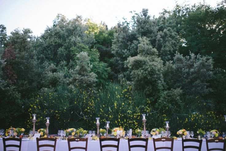 Romantic Italian Villa Reception | photography by http://www.leliascarfiotti.com