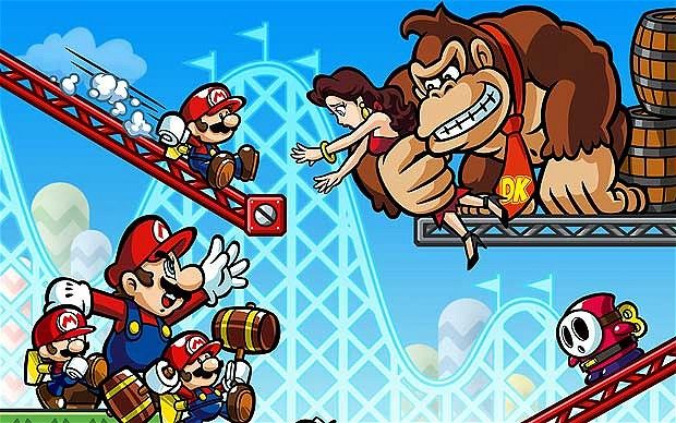 Mario vs. DK: Mini Land Mayhem! official artwork