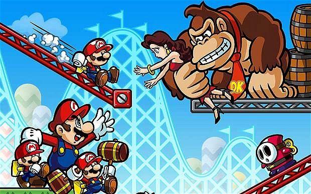 Mario vs. DK: Mini Land Mayhem! official artwork