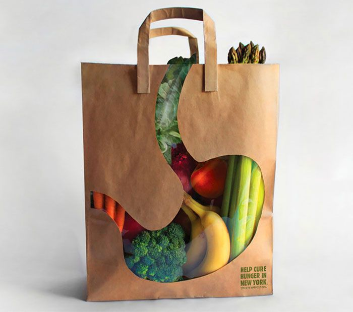 """city Harvest"" Grocery Bag"