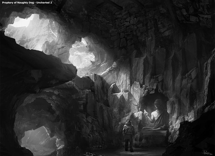 airbrushed artwork cavern concept - photo #35