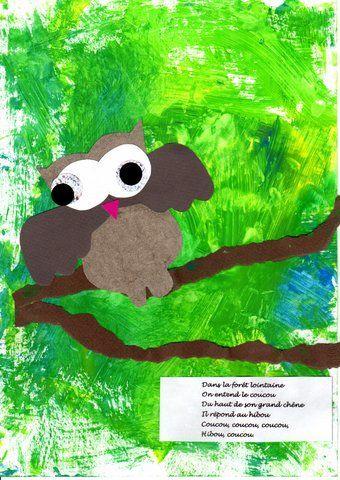 les petites têtes de l'art: Dans la forêt lointaine, on entend le coucou...