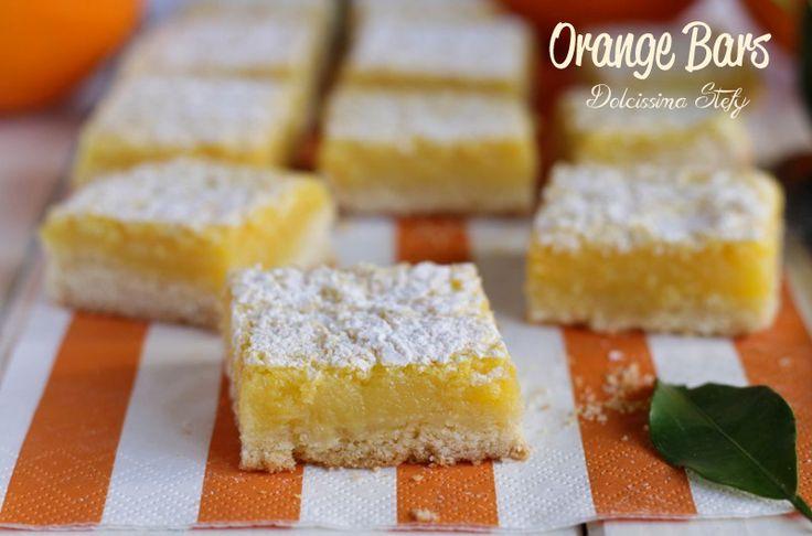Orange Bars,dolcetti all'arancia   <3