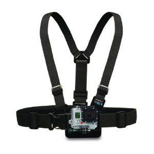 GoPro Chest Mount Harness for HERO Cameras - http://electmecameras.com/camera-photo-video/accessories/gopro-chest-mount-harness-for-hero-cameras-com/