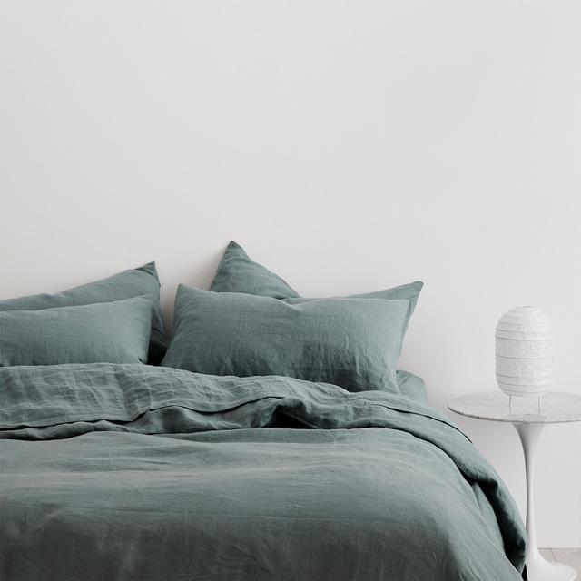 Linen Duvet Cover Bluestone Linen Duvet Duvet Cover Sets Blue Linen Bedding