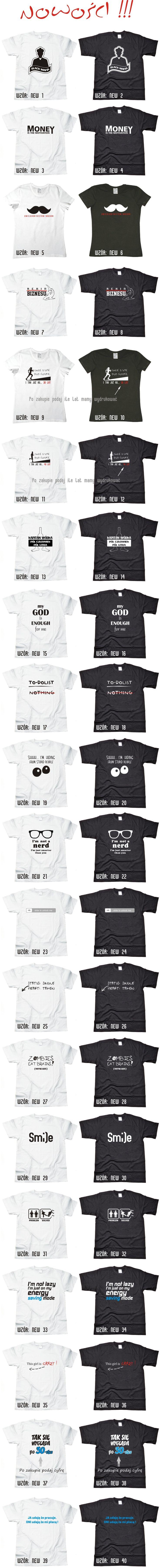 smieszne koszulki