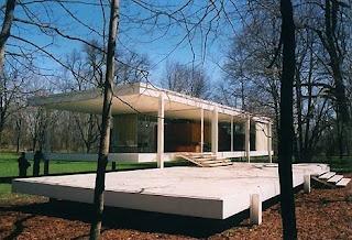 Mies Van der Rohe - Casa Farnsworth - Plano, Ilianois, EUA - 1951